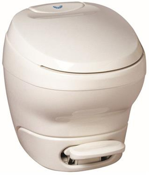 Aqua-Magic Bravura Low Model Toilet with Water Saver - Color: White