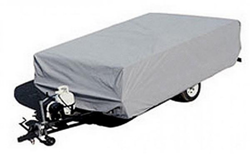 Polypropylene Tent Trailer Cover - Up to 8'