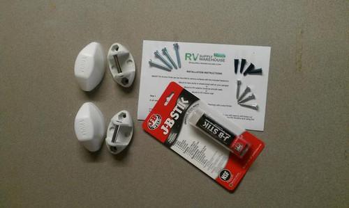 SMART RV' Multiple Use Anchor Pods, White, RV Kit