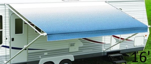 Carefree of Colorado Standard vinyl Fiesta RV awning