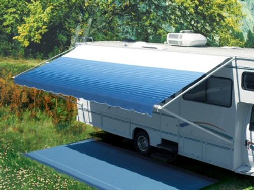 Carefree Pioneer vinyl RV patio awning, 14' complete - 14' Pioneer Manual Crank-out Awning, Complete