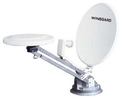 Combination Satellite and Over-the-Air Antenna