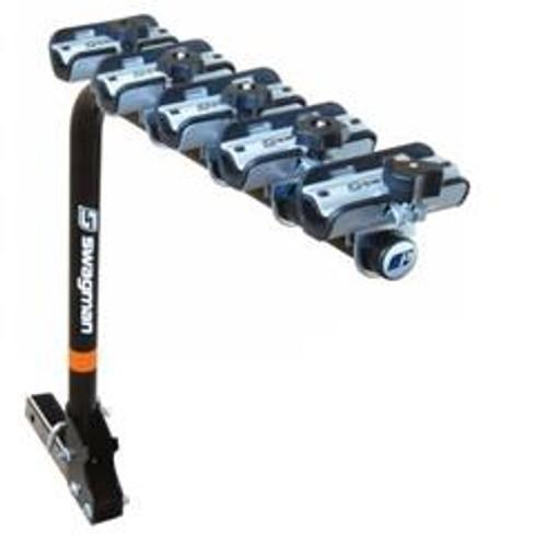 Swagman 3, 4, 5-Bike Xtreme Performance Fold Down Rack - Type: 5-Bike / 2'' Receiver