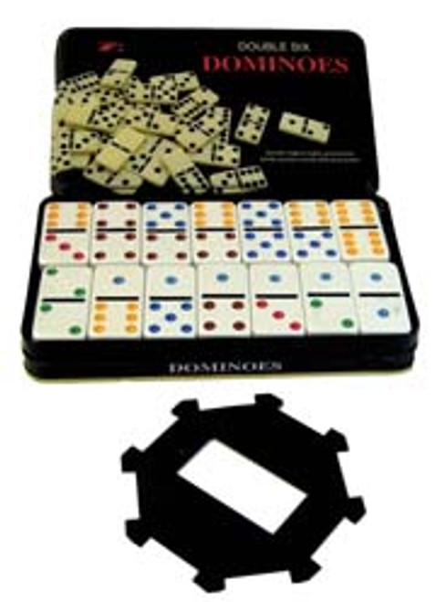 Domino Set with Hub