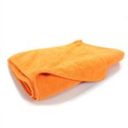 Microfiber Vehicle cleaning/polishing towel, brilliant orange