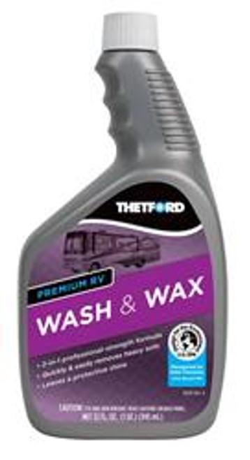 Premium RV Wash and Wax - Capacity: 32 oz.