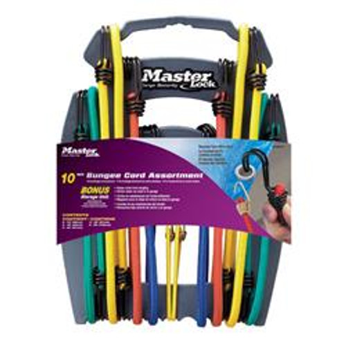 Bungi Cords - Size: 10 pc. Assorted