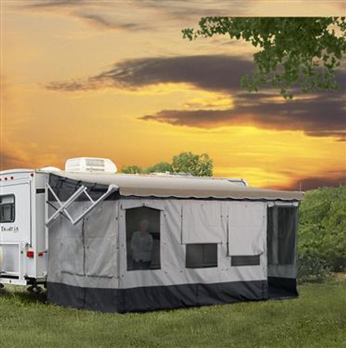 The Vacation'r RV awning room/screenroom - Size: 14' to 15'
