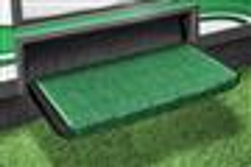 "Wraparound+Plus Step Rug - 20"" Wide - Color: Green"