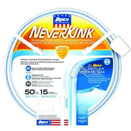 Apex Never Kink Hose - Size: 5/8'' x 50'
