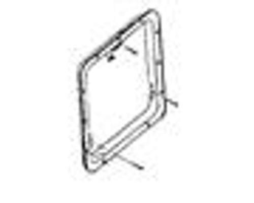 Suburban Door Kit for using your old door on new SW water heater series. - Type: Mount Radius Door Kit