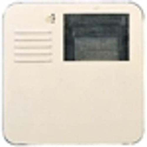 Suburban Flush Mount Water Heater Door, Polar White, 4 or 6 Gallon (6261APW)