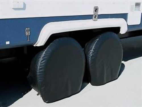 "Ultra Tyre Gards - Black, 1 pr. - Size Bus, 40"" - 42"""