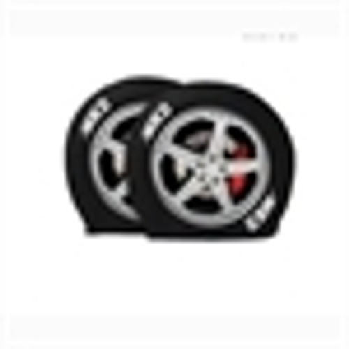 """Ultra Tyre Gards - Rims, 1 pr. - Size OS,  43"""" to 45"""" (fits oversized bus tires)"""