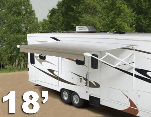 18' 12-volt Travel'r RV patio awning, complete