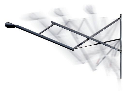 12-Volt Travel'r Hardware (Arm Set) w/adjustable pitch,  White