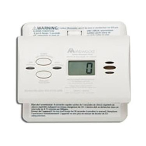 Digital Carbon Monoxide Detector, Wall or Ceiling Mount