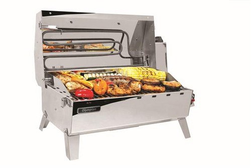 Olympian Hybrid Stainless Steel Grill