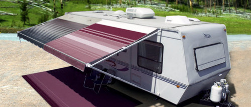 Replacement Standard Vinyl Awning Fabric By Carefree