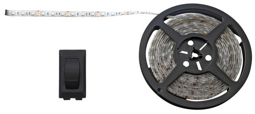 Daylight White 16' LED Strip Light Kit 12v