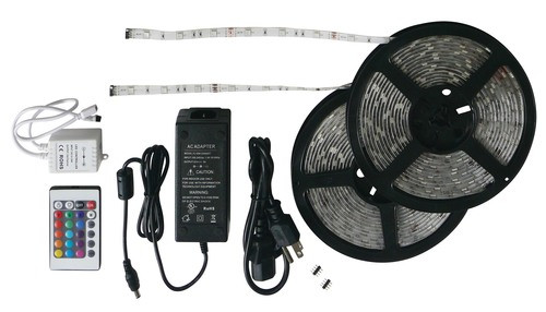 RGB 33' LED Strip Light Kit