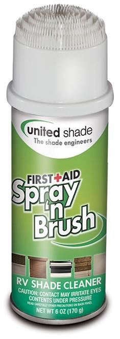 Spray 'N Brush Window Shade Cleaner