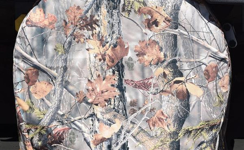 """Polyester Tire Covers, Camouflage, 1-pair, Fits 43""""-45"""" Tires"""