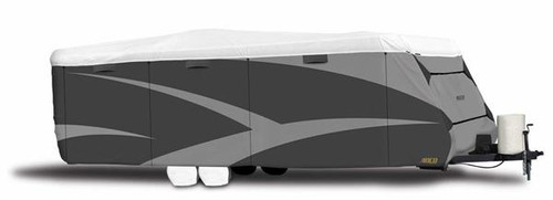 """All Climate +Wind Tyvek DS RV Cover, Travel Trailer, 24' 1"""" to 26'"""