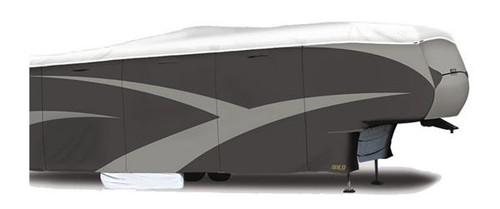 """All Climate +Wind Tyvek DS RV Cover, Fifth Wheel, 25'7"""" to 28'"""