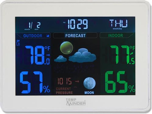 TempMinder Weather Station