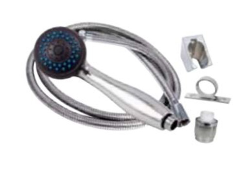 3 Function Shower Head Kit, White