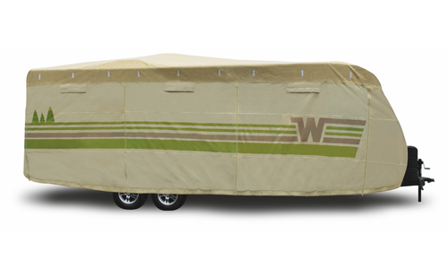 Winnebago by Adco Contour-fit Travel Trailer Cover, Up to 15'