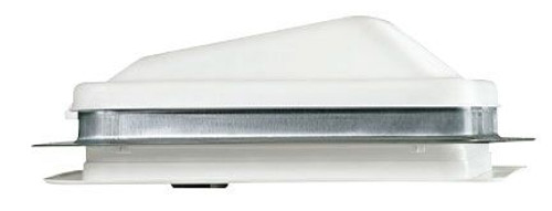 Non-powered Plastic Roof Vent, White