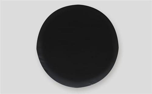 "Black Spare Tire Cover, Size J - 27"""