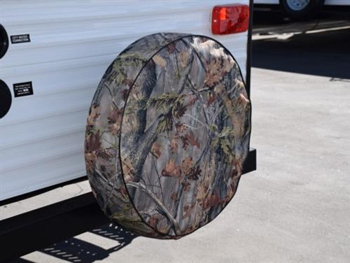 Camouflage Spare Tire Cover, Size O - 21-1/2""