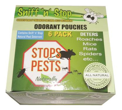 Sniff 'n' Stop, 6-pack pouches