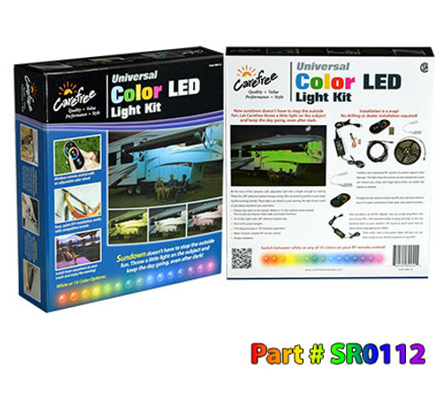 Color LED Universal Light Kit (15 colors + white)