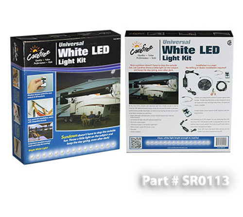 White LED Universal Light Kit, dimmable