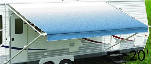 20' Fiesta Awning Fabric Roller Tube Assembly