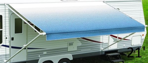 Carefree vinyl RV awning, Fiesta 24'