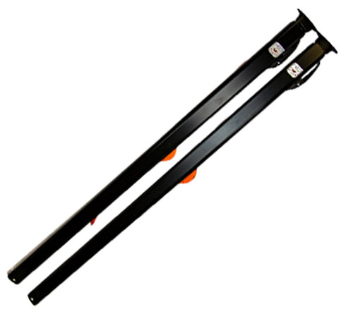 Fiesta HD Arm Set, Black with bright orange components