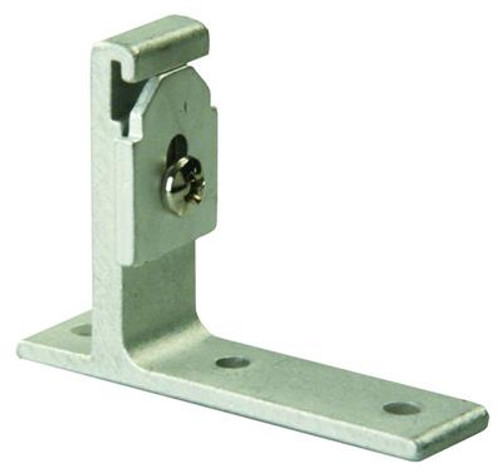 Window Curtain Track Wall Mounting Bracket, package of 2