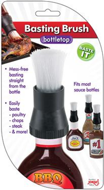 Great For Cookouts, Camping, Picnics And More Instantly Turns Any BBQ Sauce, Salad Dressing Or Marinade Bottle Into A Handy Basting Brush