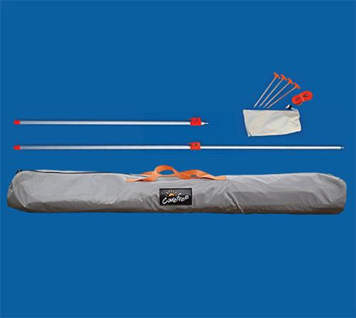 Pole Kit for EZ-ZipBlocker or Sunblocker