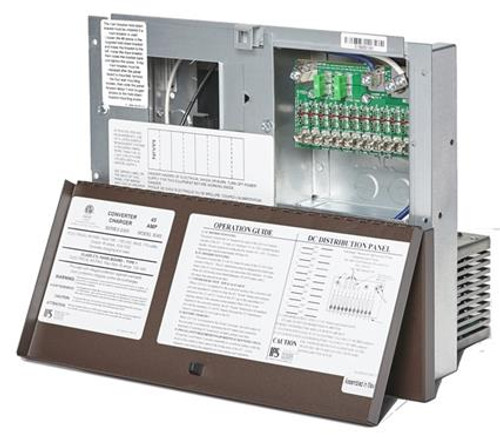 Converter Power Supply with Automatic Transfer Switch, 8300 series, 45 amp