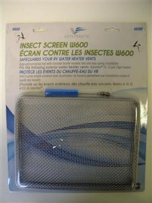 Bug Screen for RV Water Heater, Suburban 10, 12, 16 gal.