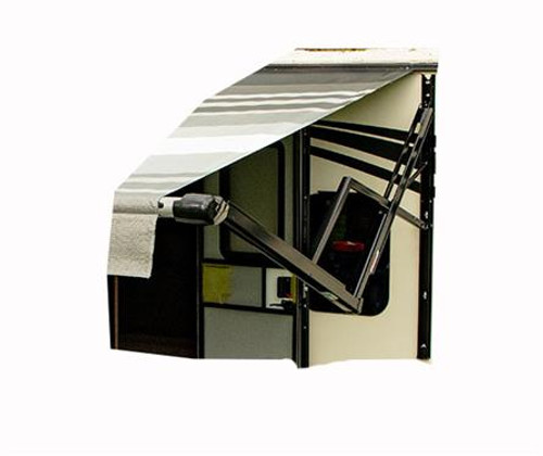 """18' MTO Altitude """"Smart"""" Vinyl Awning, Complete"""