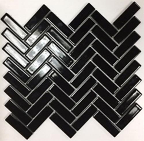 BLACK GLOSS 06T- HERRINGBONE SECONDS