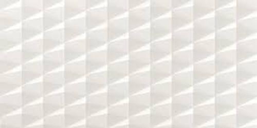 3D Stars White Matt 400x800 SECONDS