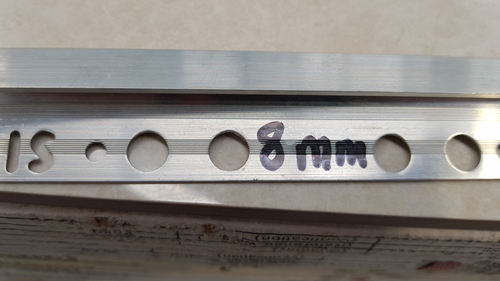 RGA-184.80 ALUM 2.5M RAMP 18mm
